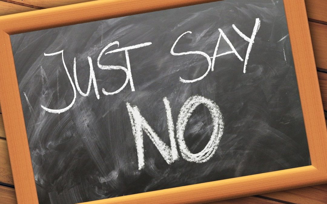 "It's Okay To Say ""No"". Here's Why"