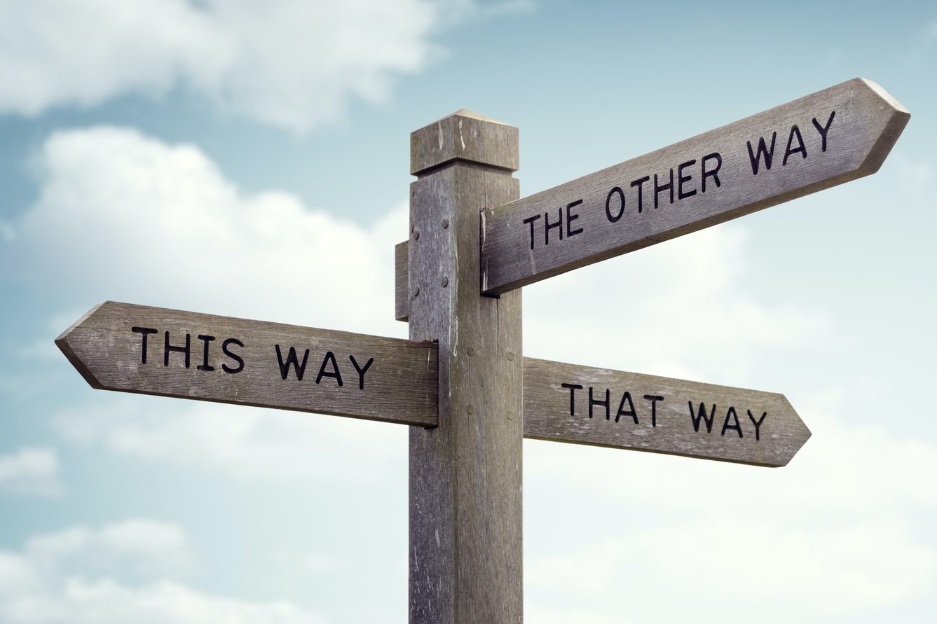 Personal coaching can help you decide which way to go.
